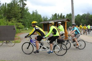Crow Wing State Park Trail Christening 2014